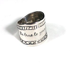 SILPADA 'Be True To Your Dreams' Ring Size 7